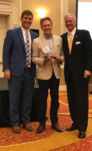 Padgett named North Carolina Chamber Executive of the Year for 2017