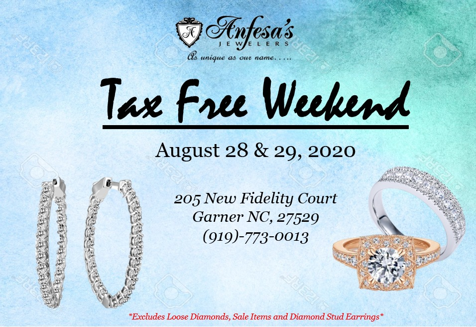 Tax Free Weekend At Anfesa S Aug 28 2020