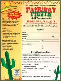 54th Annual Vallejo Chamber Golf Tournament
