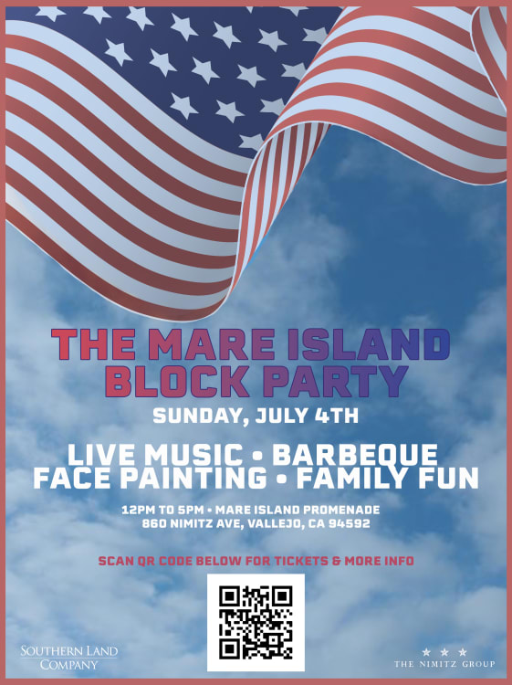 The 4th of July Mare Island Block Party