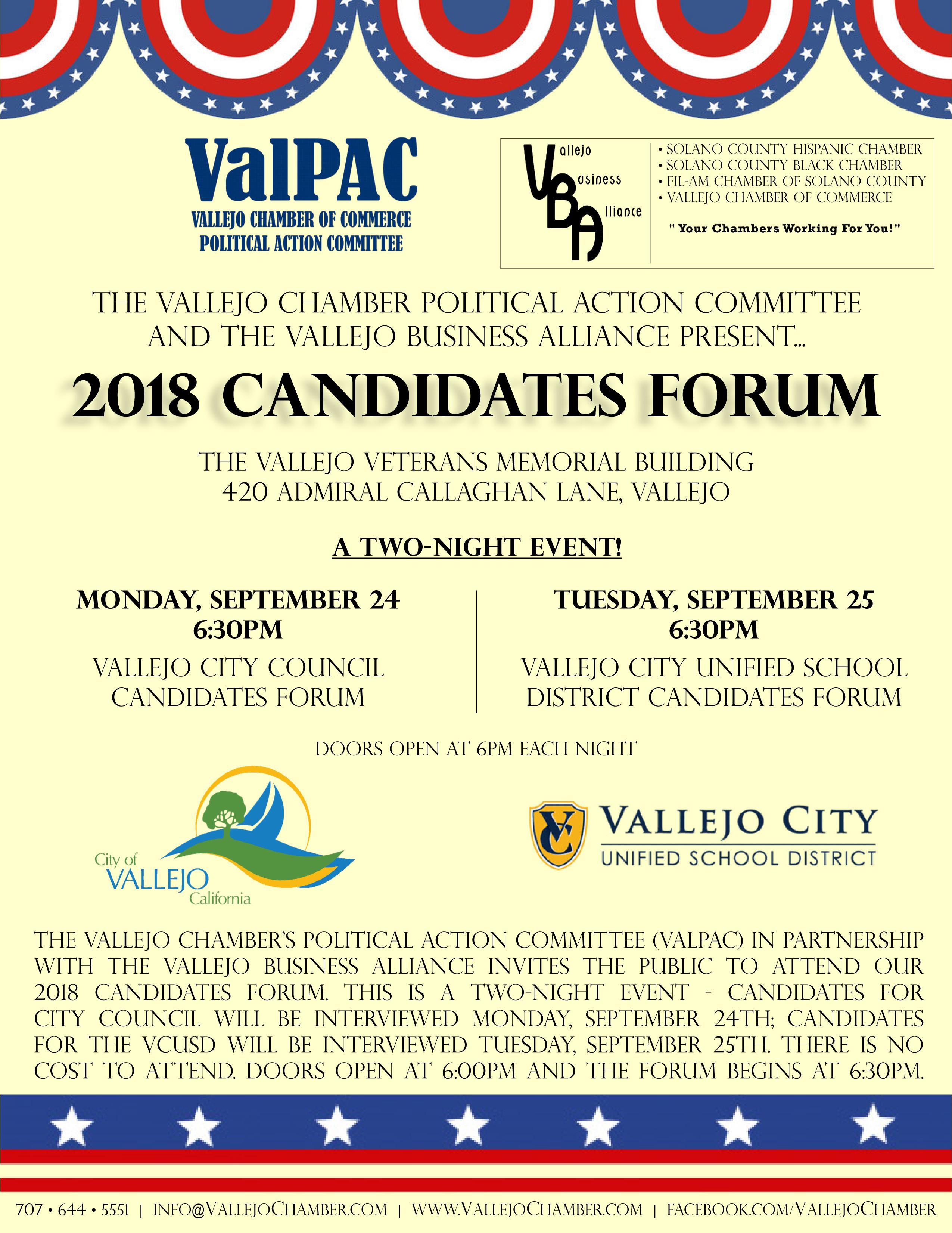 2018-Vallejo-Candidates-Forum