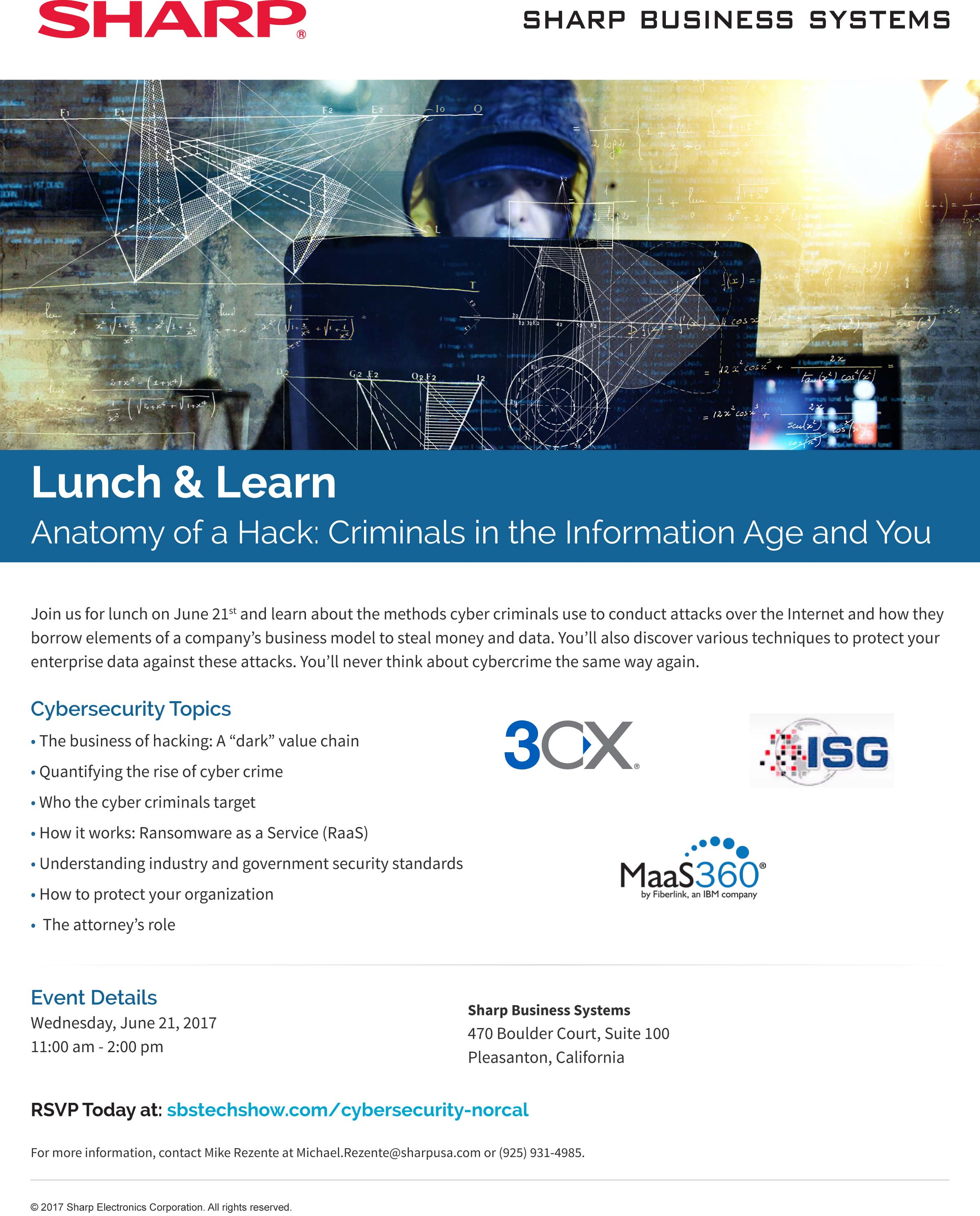 Sharp-Business-Systems-Cybersecurity-Lunch-Learn
