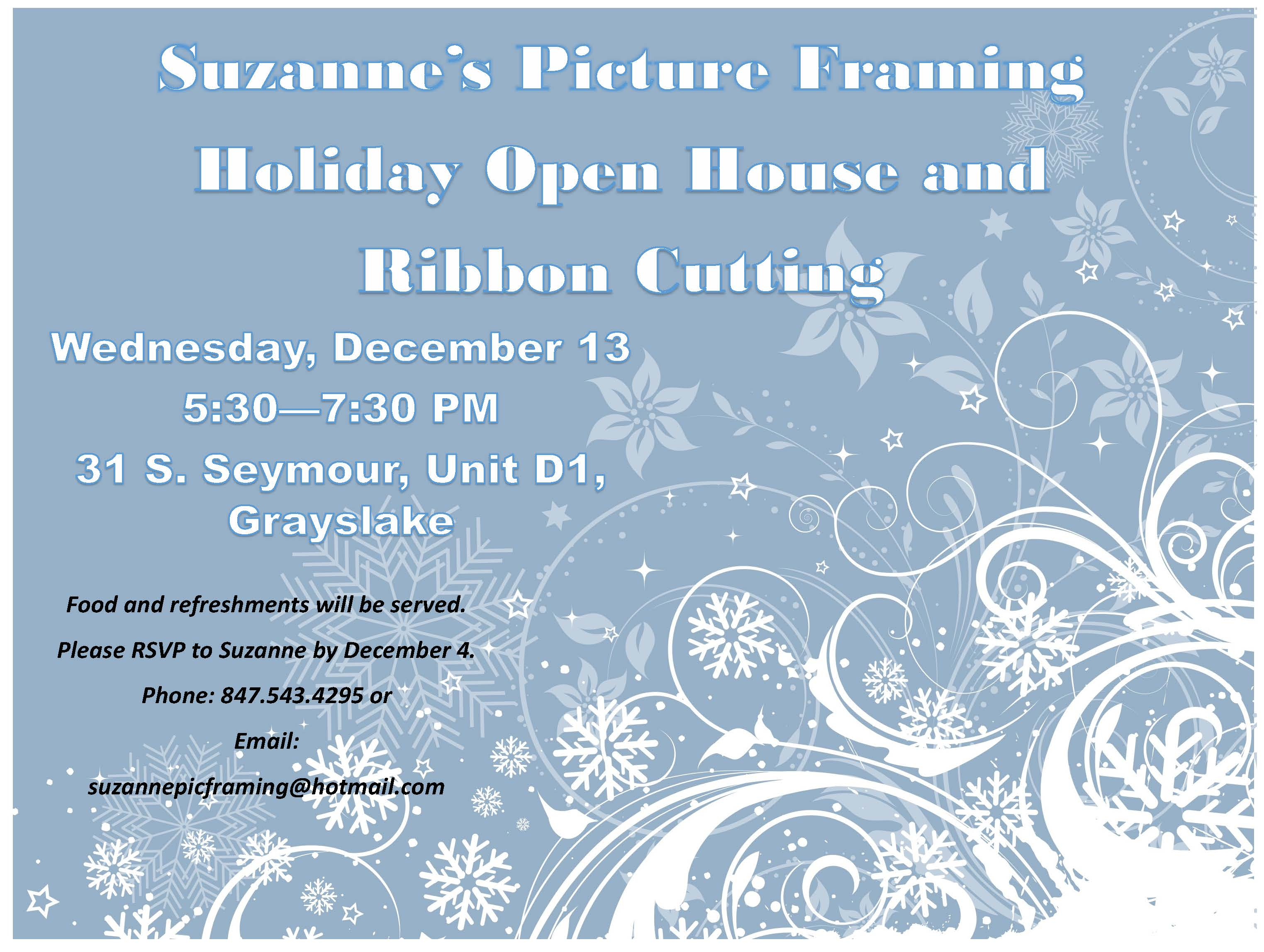 Holiday Open House & Ribbon Cutting