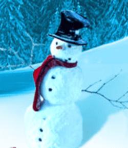 COO Breakfast snowman
