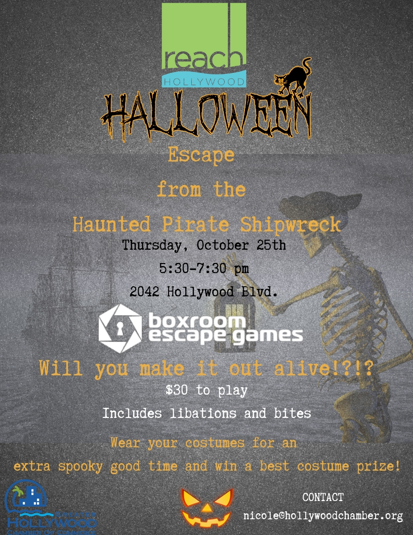 r.e.a.c.h. halloween party at boxroom escape games - oct 25, 2018