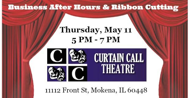 Business After Hours Curtain Call Community Theatre May 11 2017 New Lenox Chamber Of