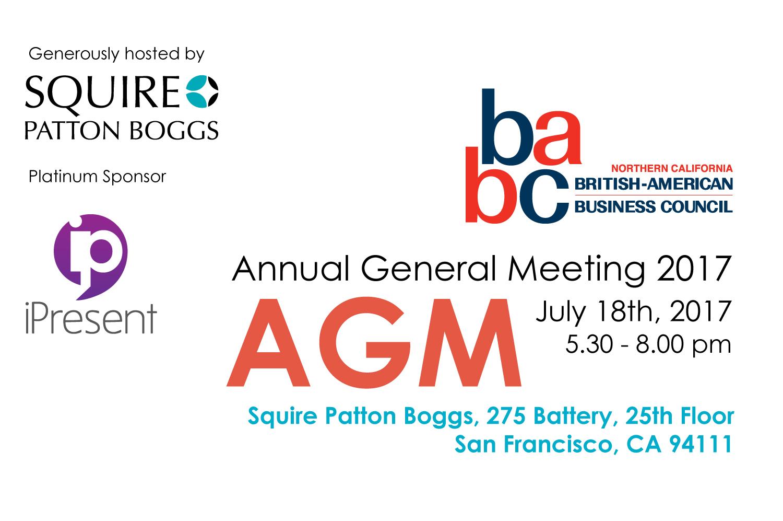 BABC AGM 2017 Event Image