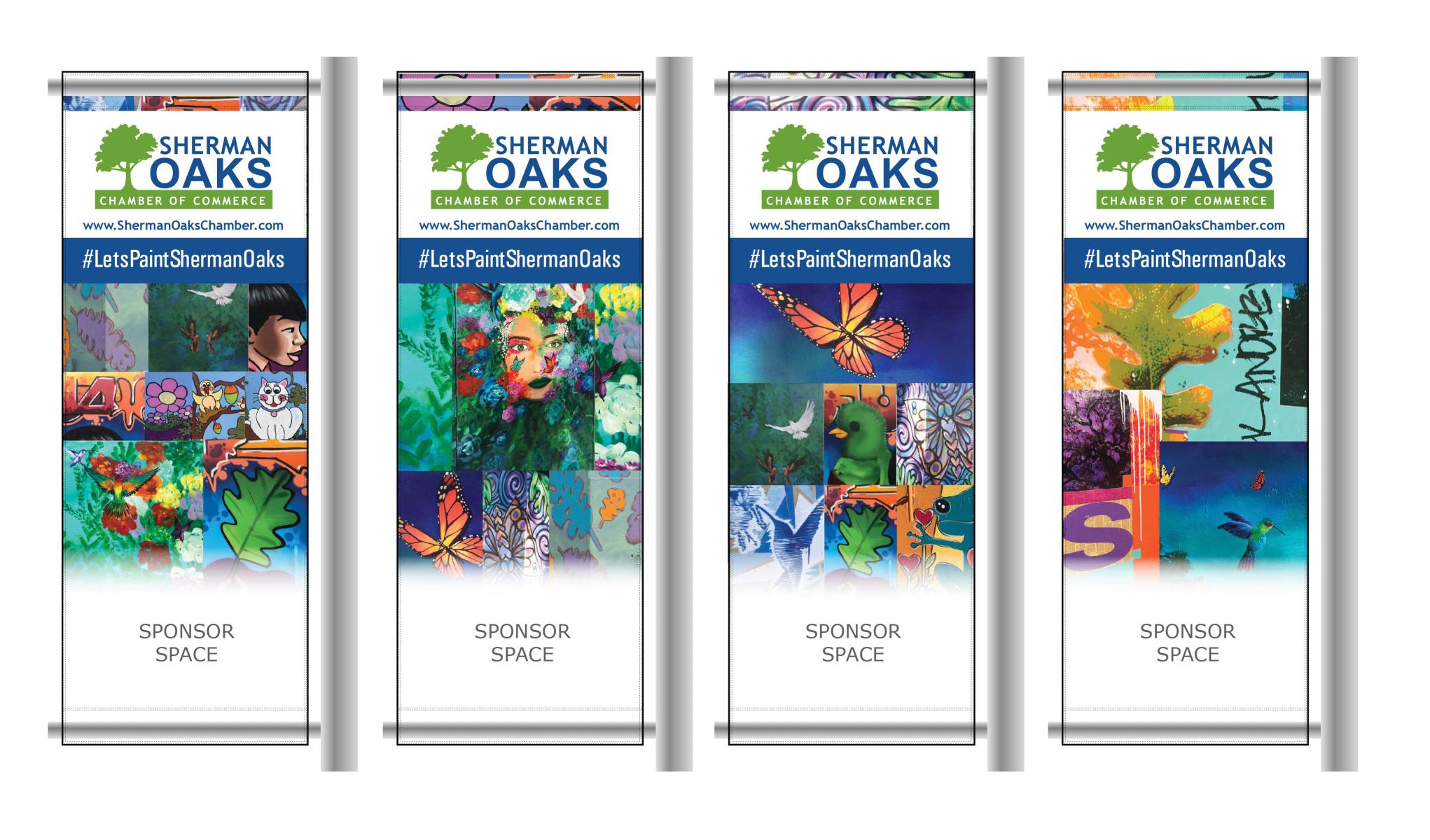 Sherman Oaks Chamber Pole Banners