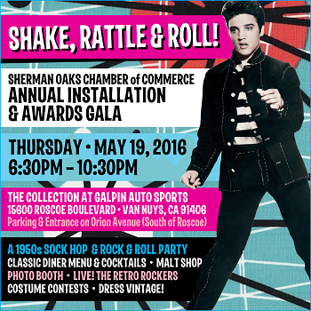 Sherman oaks chamber of commerce installation and awards gala tickets, sponsorship, silent auction