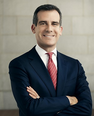 sherman oaks chamber of commerce, la city mayor eric garcetti, van nuys city hall