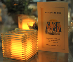 sunset social, sherman oaks charity event, sherman oaks chamber foundation, design synthesis