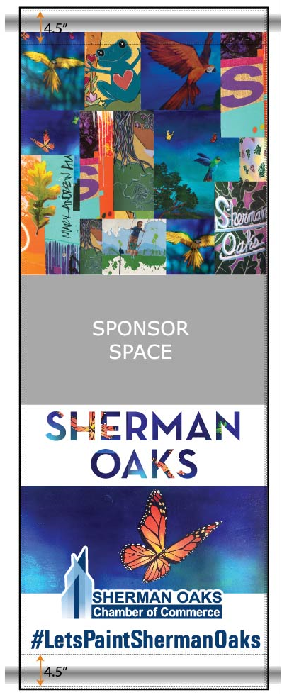2018 Sherman Oaks Pole Banner