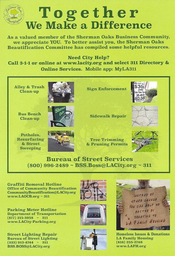 sherman oaks resources,sherman oaks chamber of commerce, organizations, community organizations, sherman oaks phone numbers