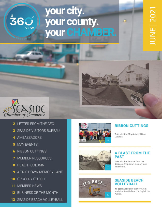 May, Newsletter, 2021, your city. your county. your chamber, chamber of commerce, seaside, Oregon, news, local
