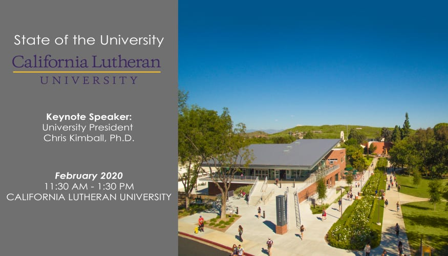State of the University - CLU