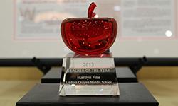 Spirit Teacher of the Year