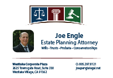 Joe Engle Estate Planning Attorney