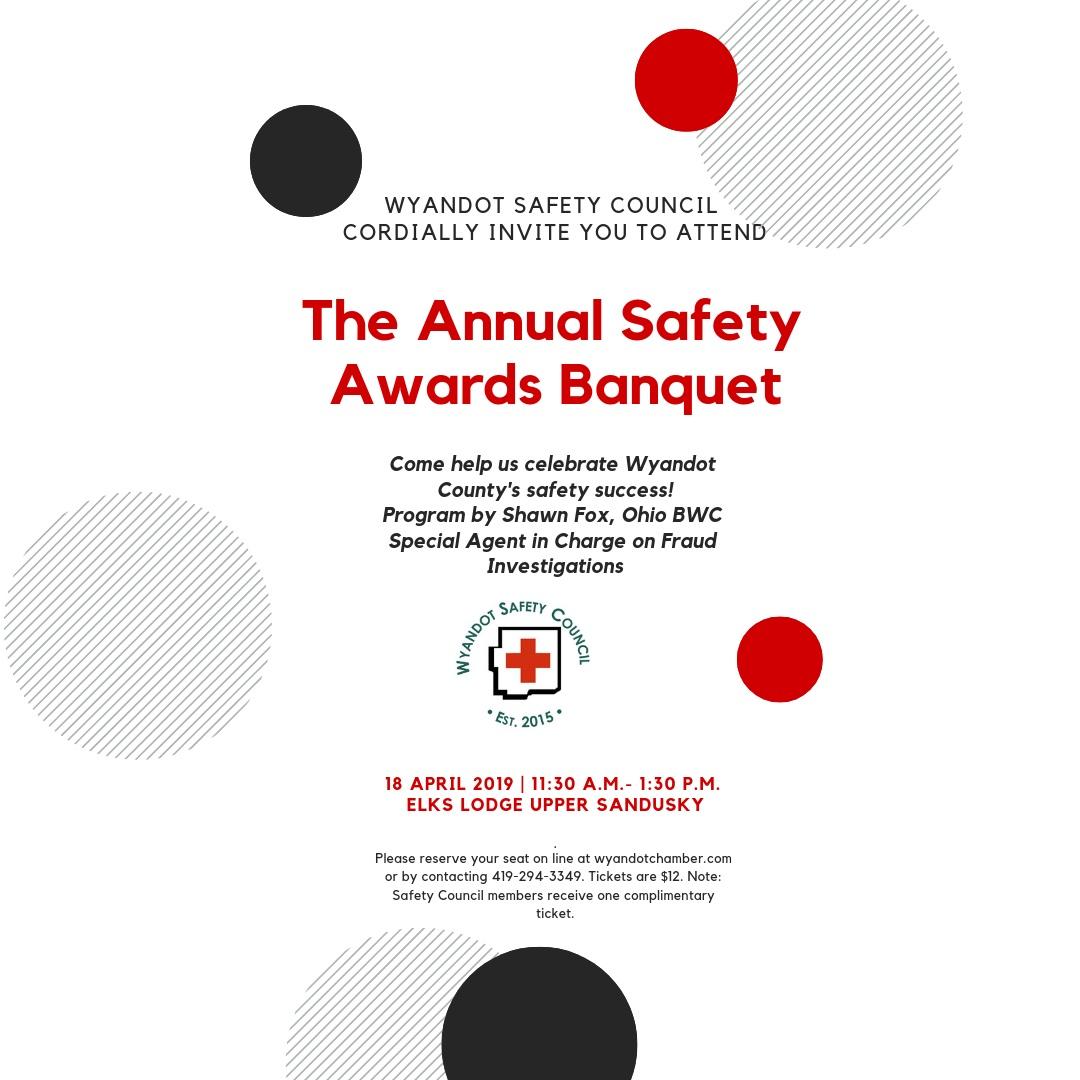 Wyandot Safety Council Awards Banquet April 18, 2019
