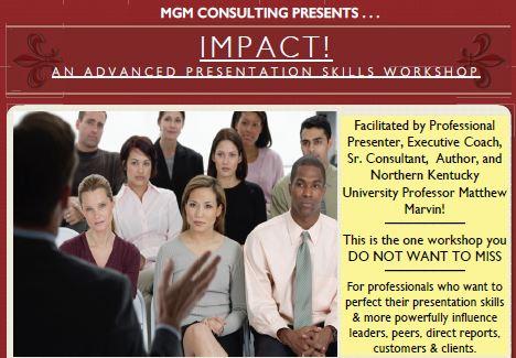 Advanced Presentation Skills