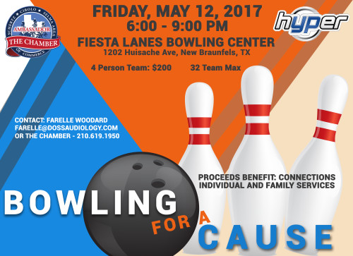 Annual Ambassador Bowl-a-thon, benefitting Connections Individuals and Families