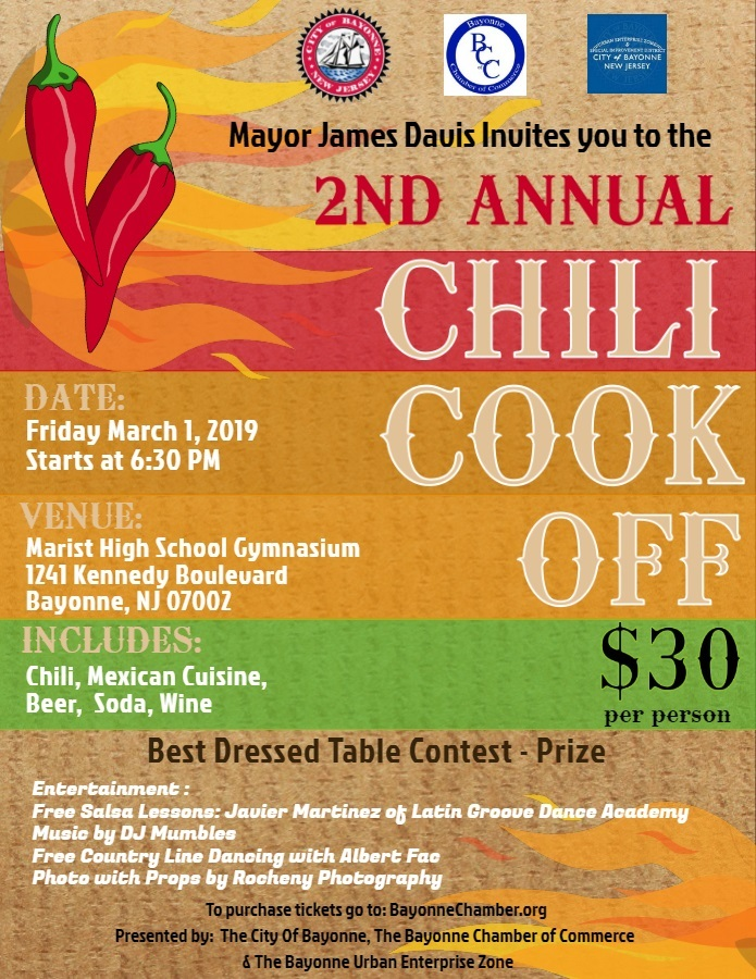 Bayonne Chili Cook Off 2019