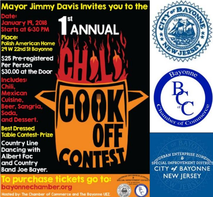 The 1st Annual Bayonne Chili Cook Off