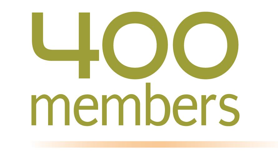 400 Members Strong