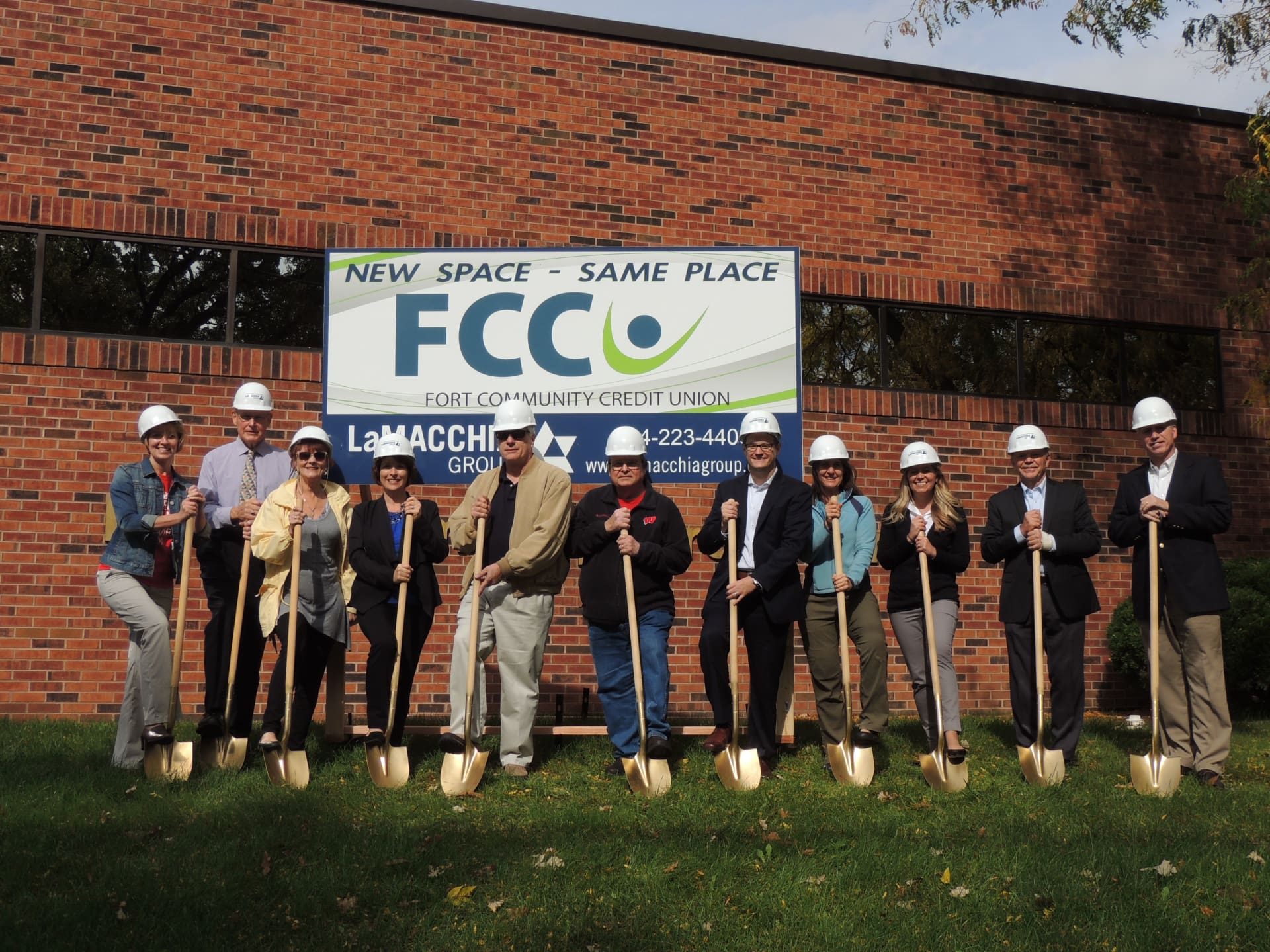 Ground breaking for FCCU  remodel