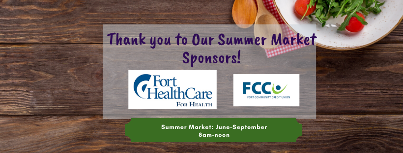 2019 sponsors of the fort atkinson farmers market