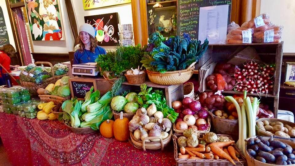 holiday market december 7 vegetable vendor