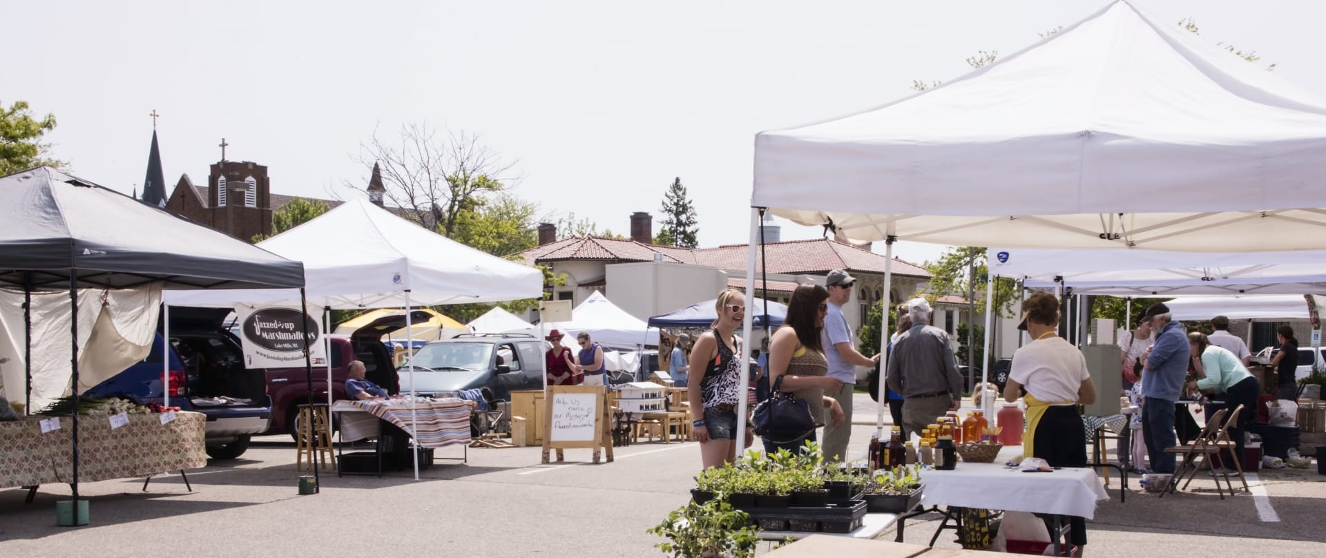 Fort Farmers Market Saturdays 8am - 12pm downtown fort atkinson