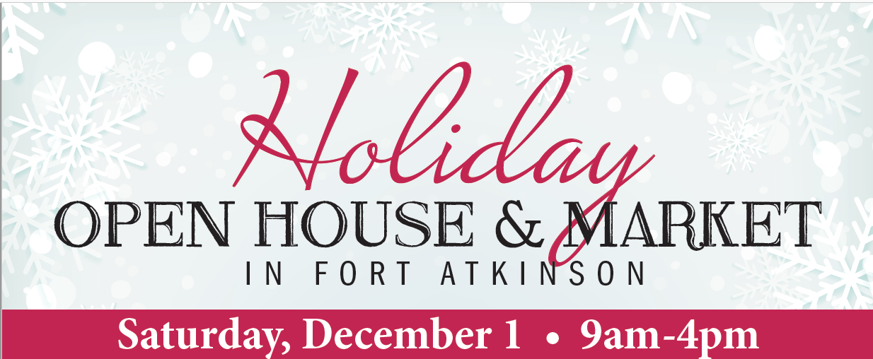 holiday open house and market december 1 in fort atkinson.JPG