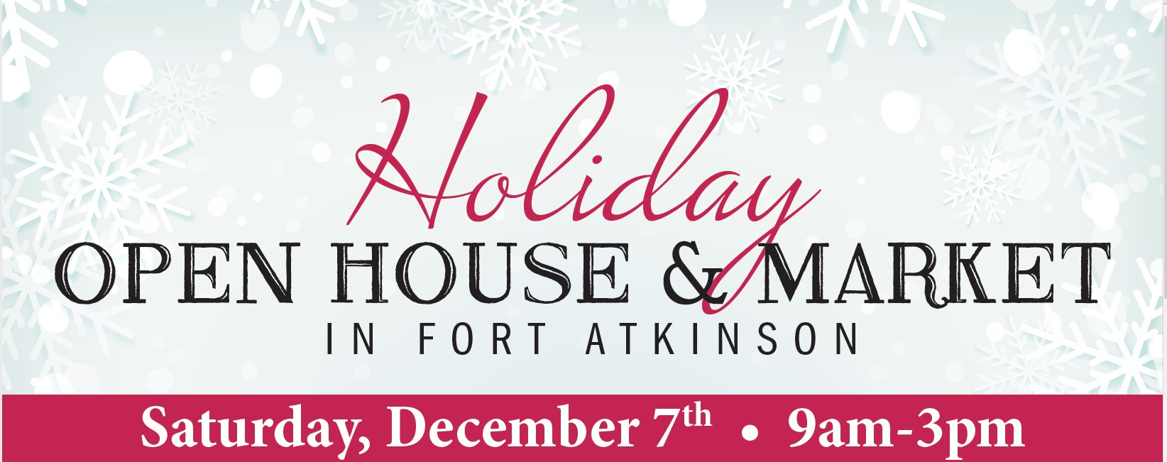 holiday open house december 7