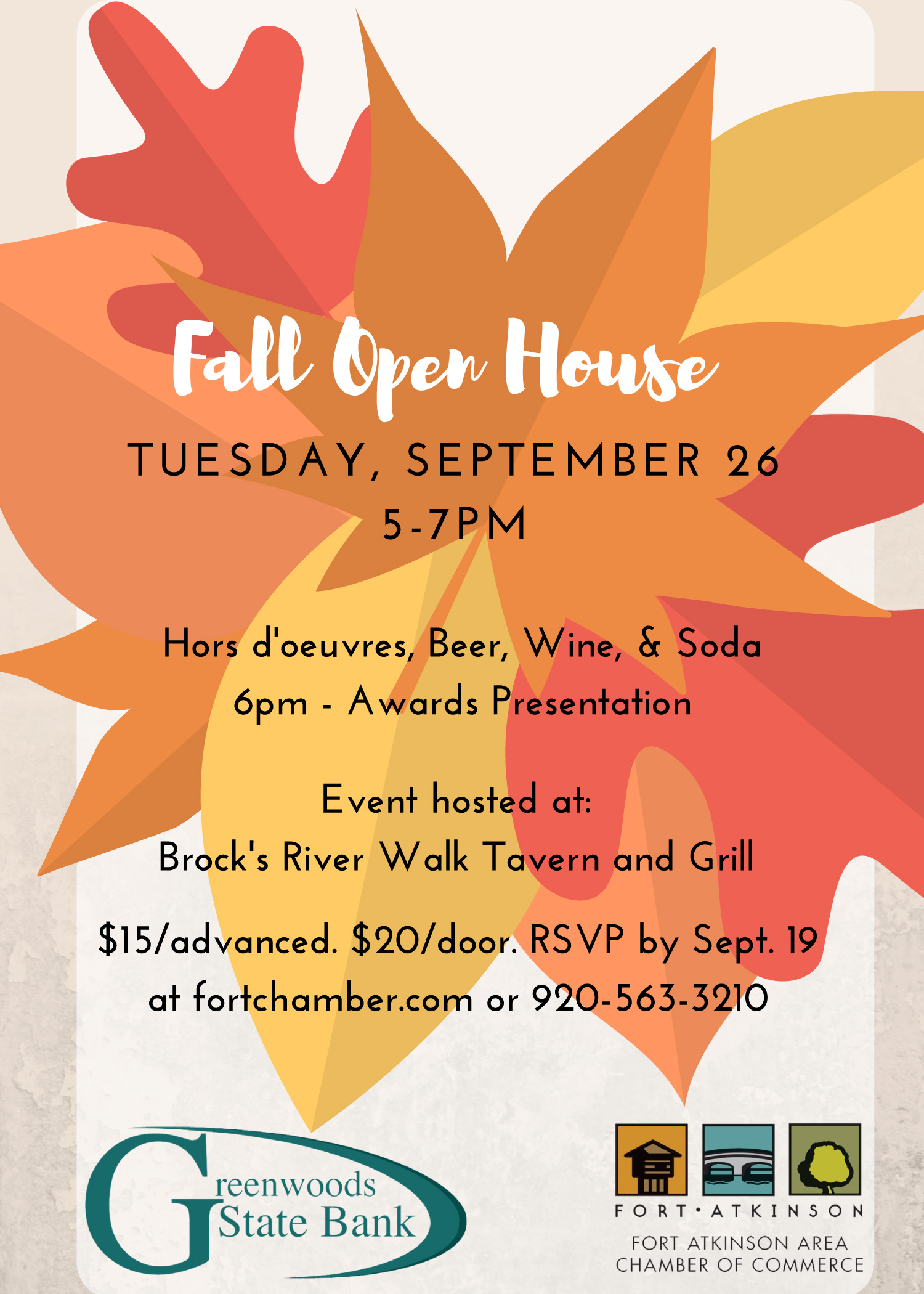fort chamber fall open house 2017 - sep 26, 2017 - the chamber