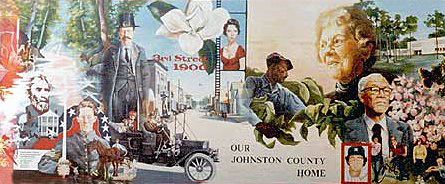 Johnston County Historical Mural