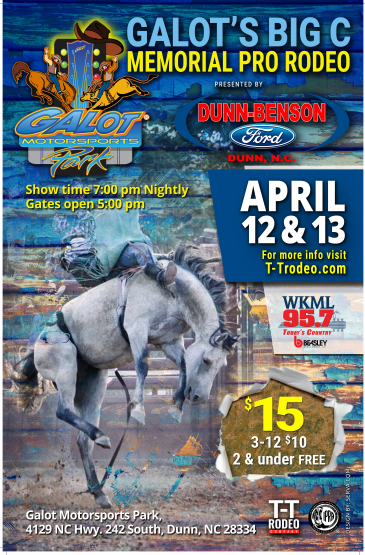 Galot Rodeo flyer
