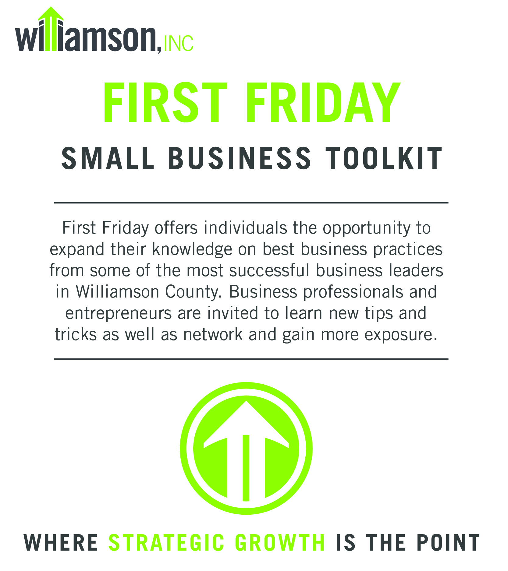First Friday: Your Small Business Resource - Sep 6, 2019