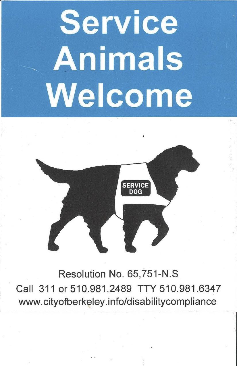 Service-animal-Sign