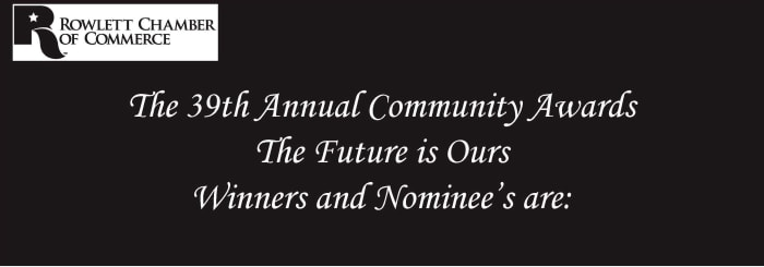 Banquet Pictures for 38th Annual Community Awards