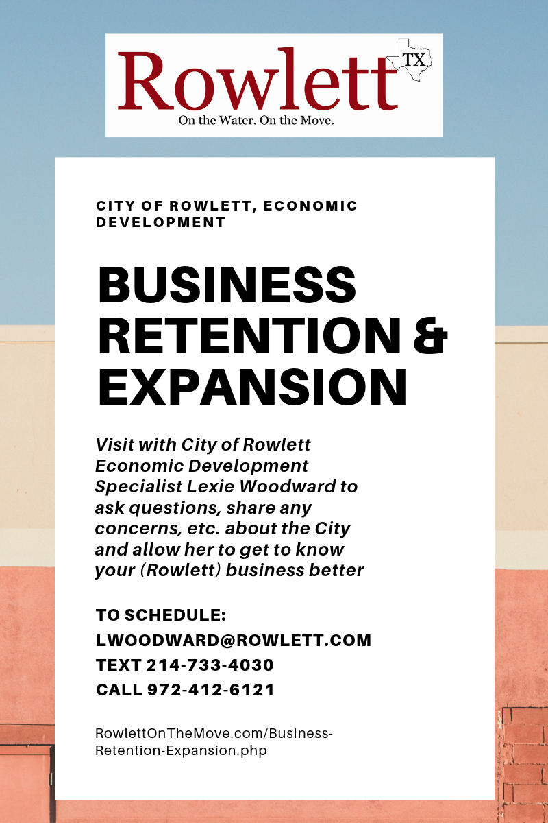 Business Retention & Expansion - Lexie Woodward