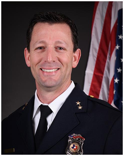 Michael Godfrey, Rowlett Chief of Police
