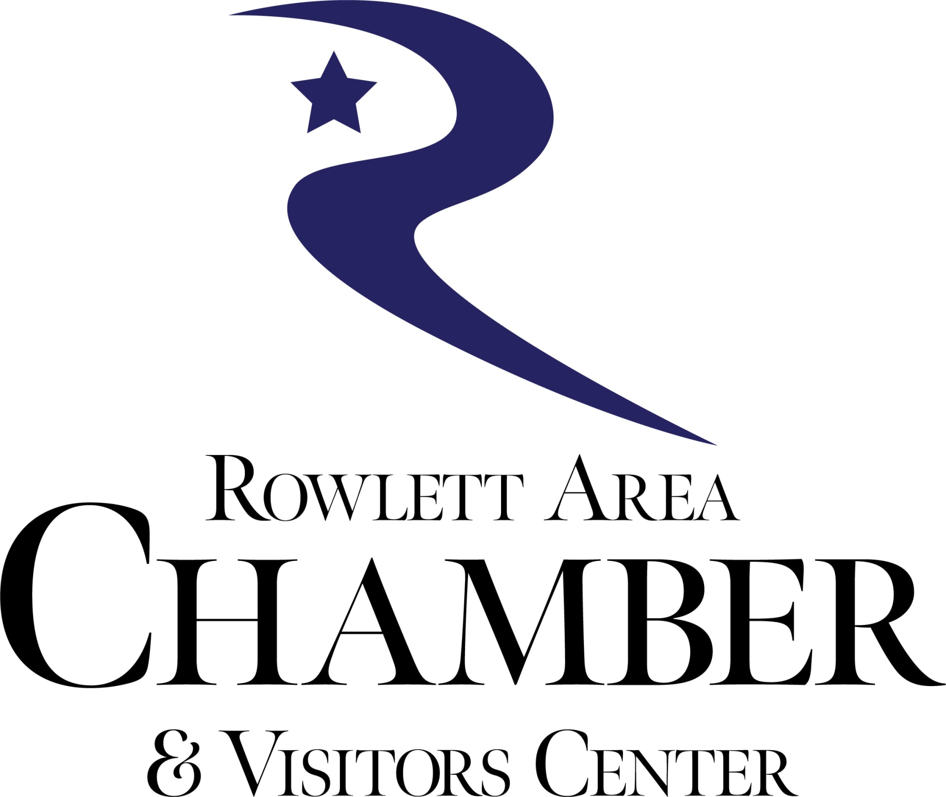 Rowlett Area Chamber & Visitors Center Logo