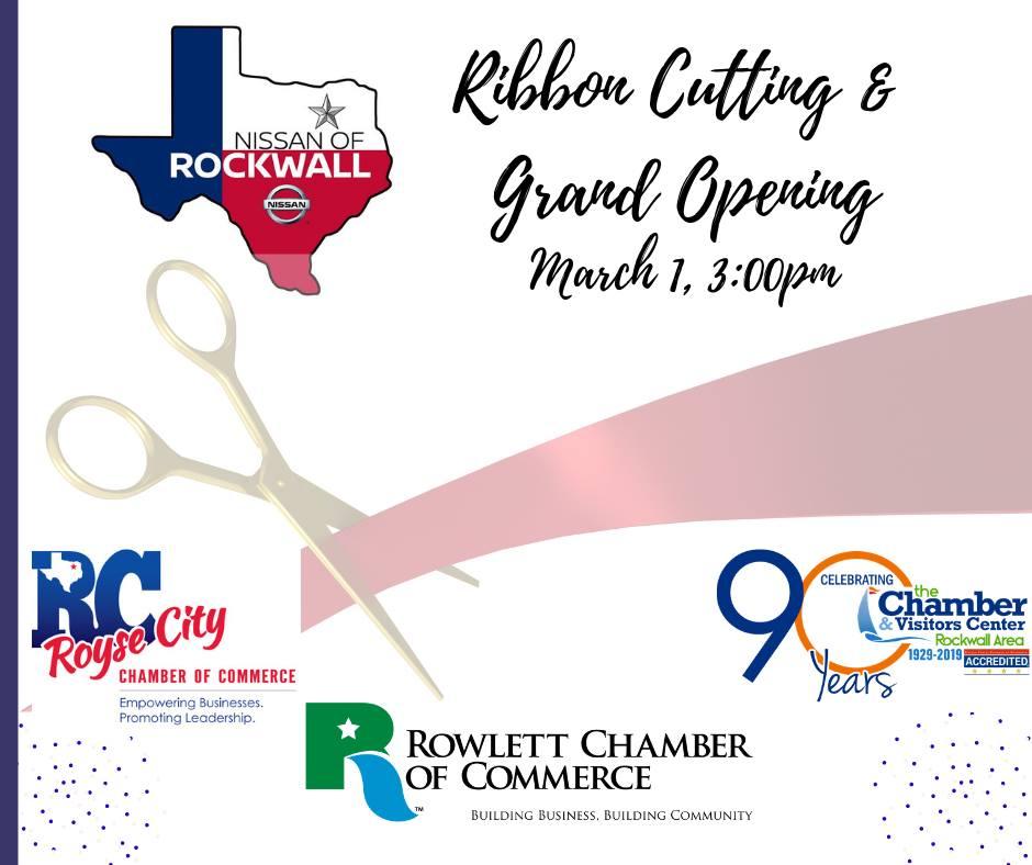 Nissan of Rockwall Ribbon Cutting