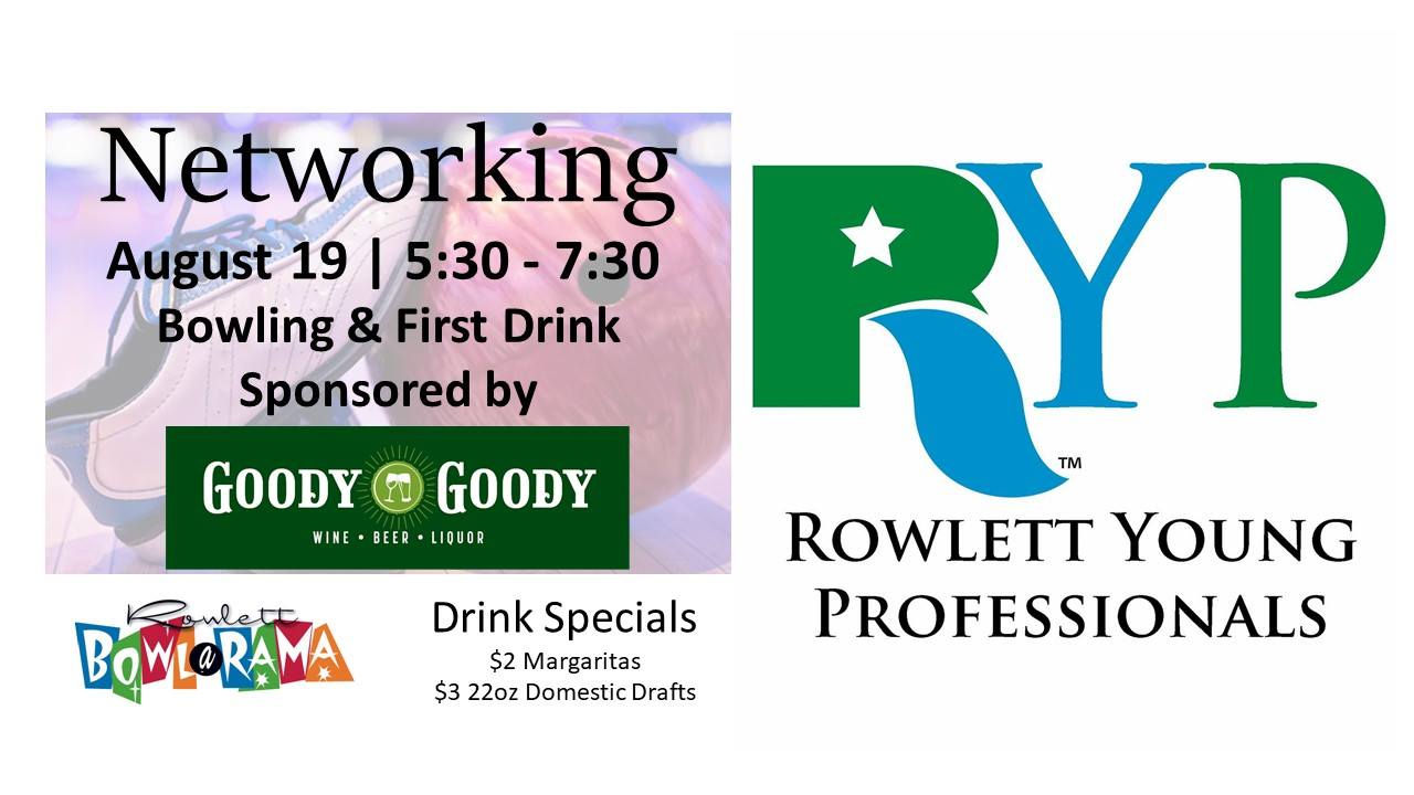 August Networking Rowlett Young Professionals