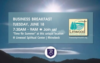 April Breakfast Networking Event Invitation April 16 7:30-9am at Bread Alone Sponsored by Suncommon