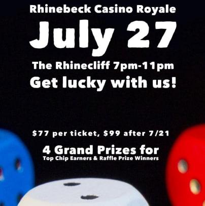 Rhinebeck Casino Royale july 27