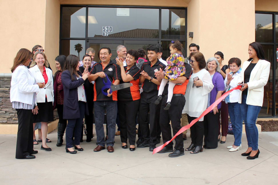 Santa Maria Chamber Ribbon Cutting La Tradicional Ice Cream Shop.jpg