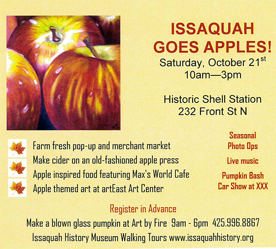 Issaquah Goes Apples!