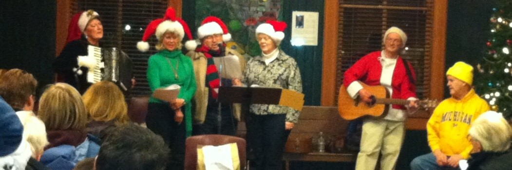 Mrs.Claus and Caroling