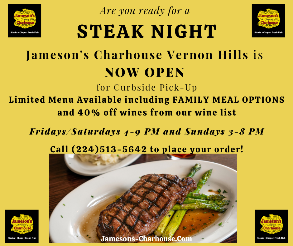Vernon Hills Town Center: Jameson's Charhouse